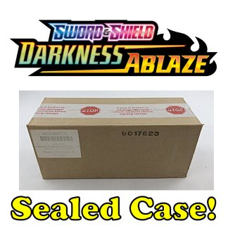 Darkness Ablaze Sealed Booster Case Pokemon TCG