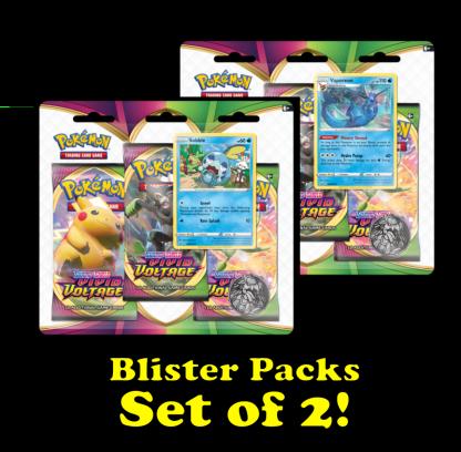 Vivid_Voltage_Pokemon_TCG_Cards_Triple_Blister_Pack_Set_Of_Two-Vaporeon-Sobble