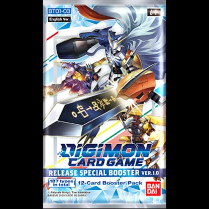 DIGIMON Card Game: RELEASE (BASE SET) SPECIAL BOOSTER PACK VER.1.0