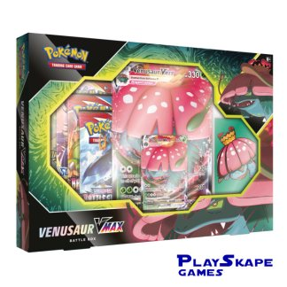 Venusaur-VMAX-Battle-Box-Promo-Sleeves-Battle-Styles-2021-Collection-Pokemon-Cards
