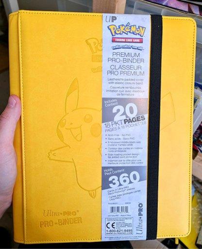 Pikachu-Pro-Binder-Premium-Ultra-Pro-Pokemon-TCG-Cards-Folder-Front-Cover-9-Pocket