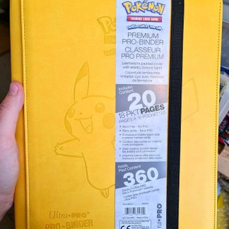 Pikachu-Pro-Binder-Premium-Ultra-Pro-Pokemon-TCG-Cards-Folder-Front-Cover-9-Pocket