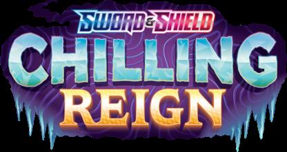 Chilling Reign Set Logo PNG Pokemon TCG