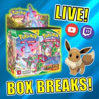 Evolving Skies Pokemon Card Box Breaks TCG