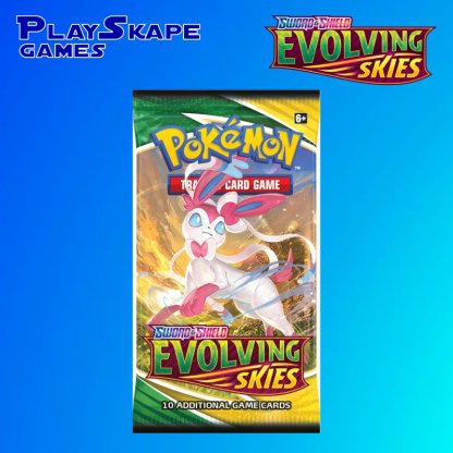 Evolving-Skies-Sword-And-Shield-Pokemon-TCG-SWSH7-Booster-Pack-Sylveon-Eevee