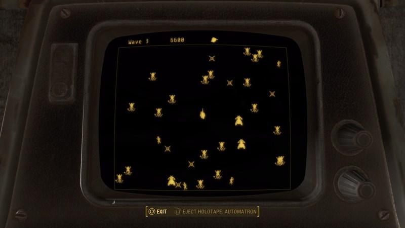 Der er selvfølgelig også et nyt Pip-boy spil med i Automatron. Som hedder Automatron...