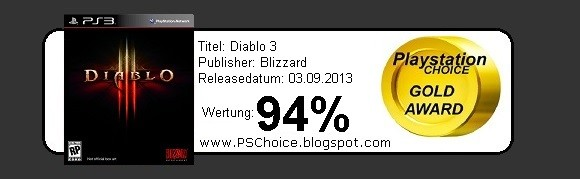 Diablo 3 - Die Bewertung von Playstation Choice - It´s your Choice
