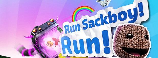 Run Sackboy Run Bilder Logo