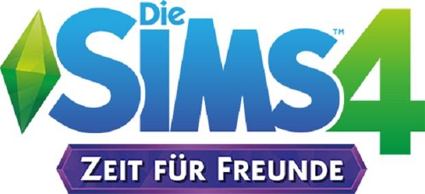 Die Sims 4 - Zeit fuer Freunde - Logo