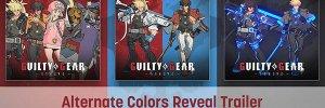 Guilty Gear: Strive – előzetesen az alternatív színek