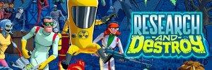 Research and Destroy – körökre osztott akciójáték