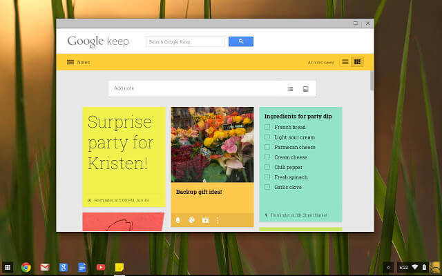 Google Keep for PC