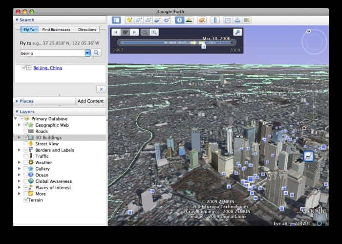 Google Earth for PC