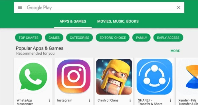 Google Play Store for Mac