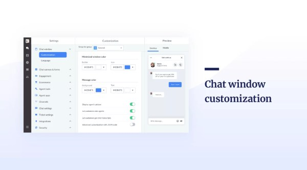 LiveChat for PC