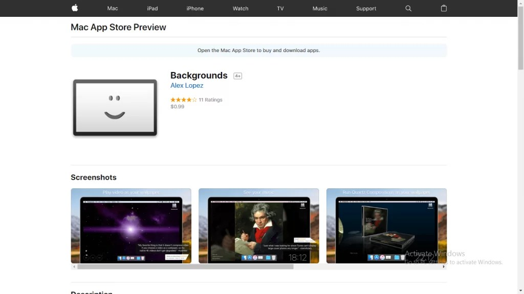 Backgrounds for Mac