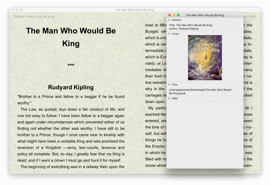 Book Reader for Mac