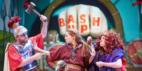 Horrible Histories Incredible Invaders New Wimbledon Theatre