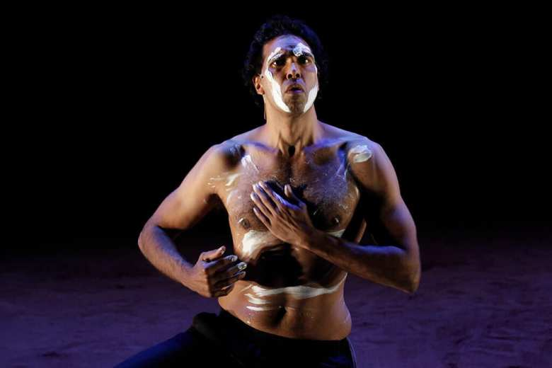 Malthouse Theatre production The Shadow King, Barbican Centre
