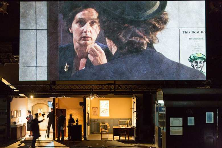 review The Forbidden Zone Barbican Schaubühne Berlin