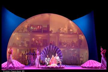 The Pearl Fishers at The Israeli Opera, Tel-Aviv