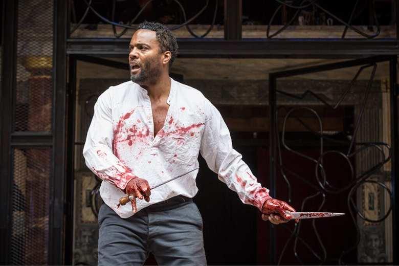 Macbeth Shakespeare's Globe Photo Marc Brenner