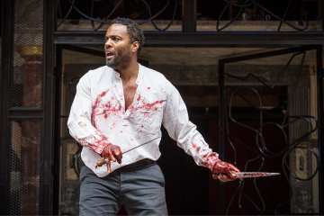Macbeth Shakespeare's Globe Photo Marc Brenner