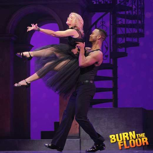 Burn the Floor: Fire in the Ballroom, The Peacock Theatre