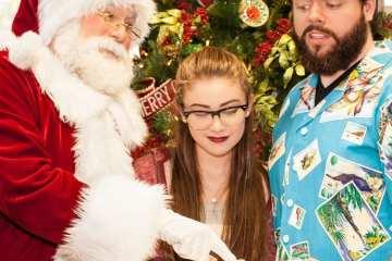 Santa Claus – A New Musical. Photo Chip Tompkins