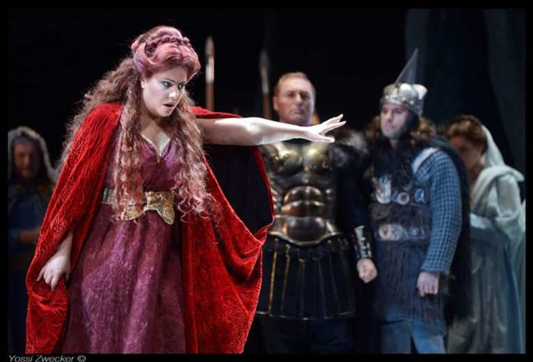 Norma at the The Israeli Opera, Tel-Aviv