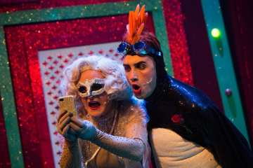 darren-brownlie-as-the-snaw-queen-and-christopher-jordan-marshall-as-percy-the-penguin