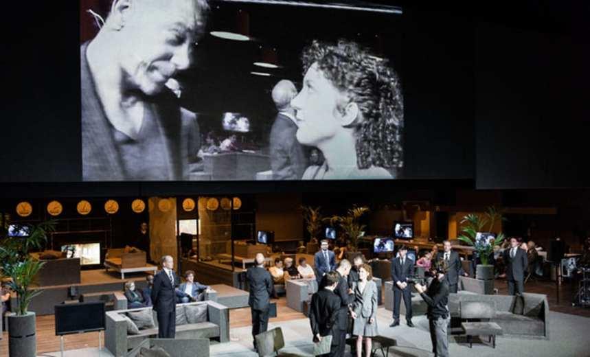 Roman Tragedies by Toneelgroep Amsterdam, Barbican Centre. Photo Jan Versweyveld