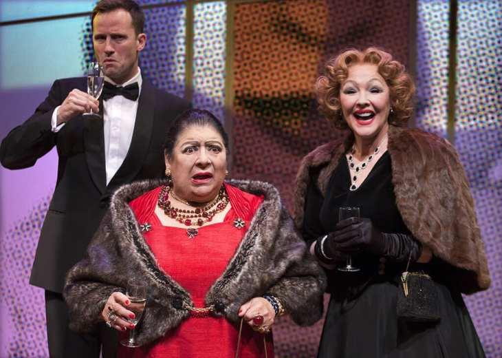 Madame Rubinstein at Park Theatre. Photo by Simon Annand