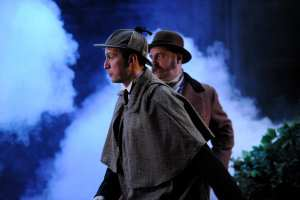 The Hound of the Baskervilles English Theatre Frankfurt Photos by Martin Kaufhold