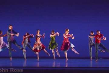 Richard Alston Dance Company — Tangent / Chacony / Gypsy Mixture