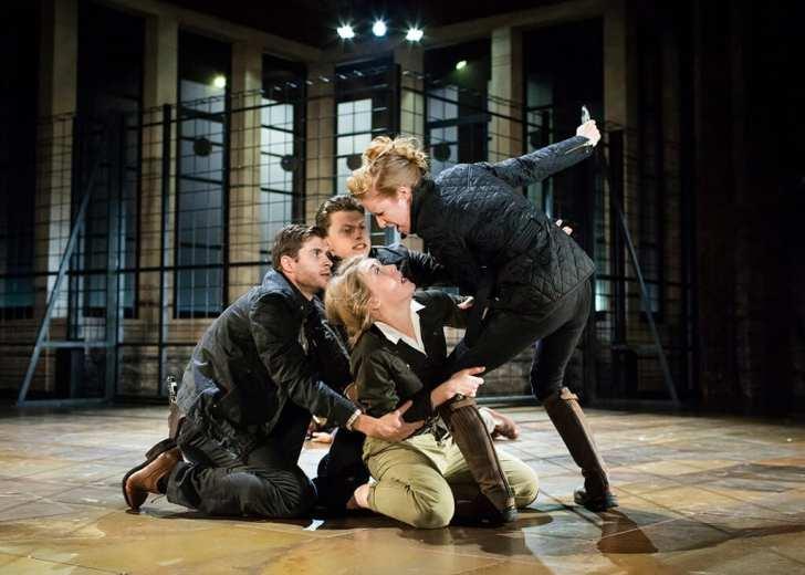 Titus Andronicus Royal Shakespeare Society. Photo Helen Maybanks