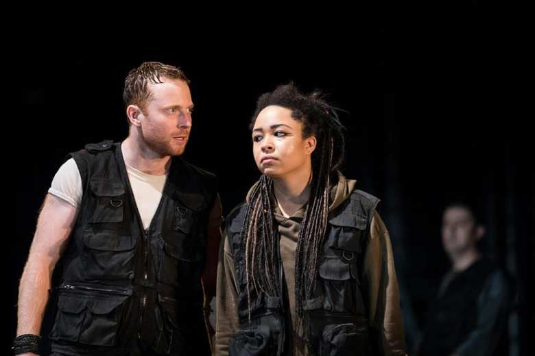 Titus Andronicus Royal Shakespeare Society. Photo Helen Maybanks