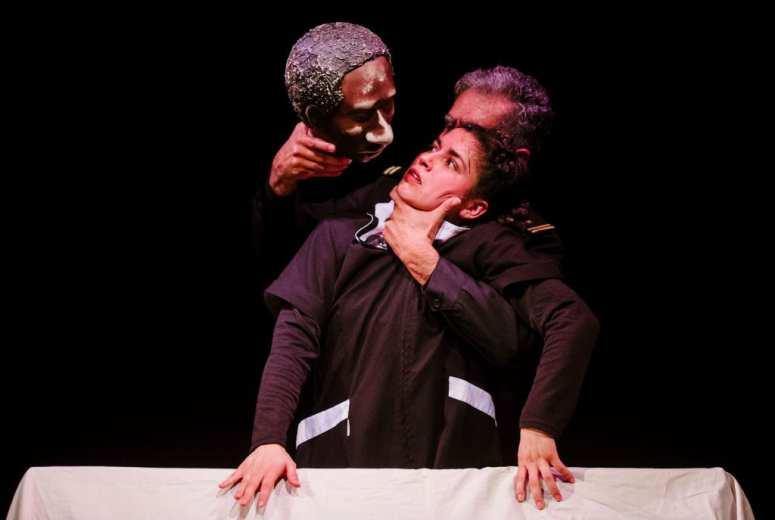 (c) Alex Brenner CASA Festival 2017 - Otelo by Viajeinmovil @ Southwark Playhouse