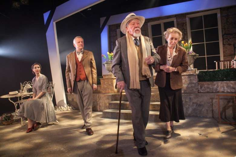 A Day by the Sea Two's Company Southwark Playhouse