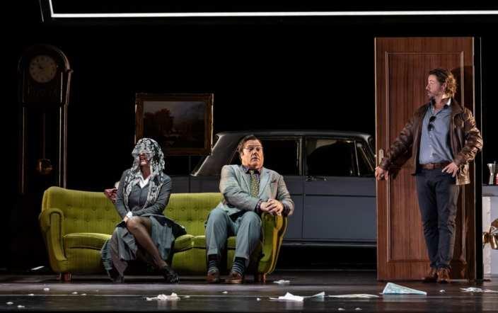 Olga Peretyatko as Norina, Bryn Terfel as Don Pasquale, Markus Werba as Malatesta