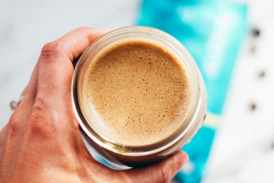bulletproof coffee protein latte | plays well with butter
