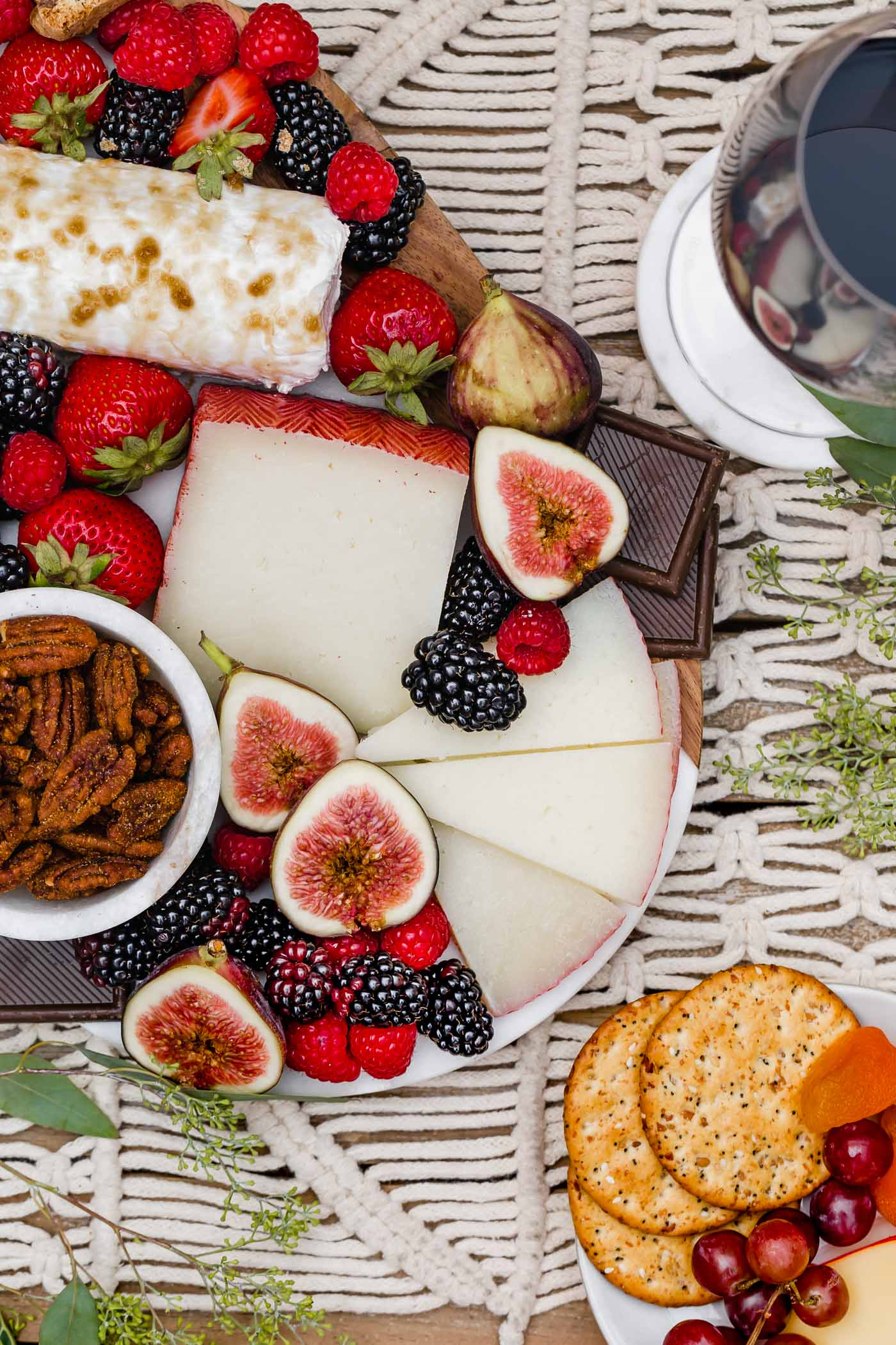 Dessert Cheese Board The Perfect Wine Pairings
