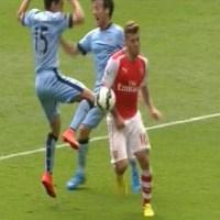 Penalty or Not: Mark Clattenburg and Arsenal's Jack Wilshere Handball