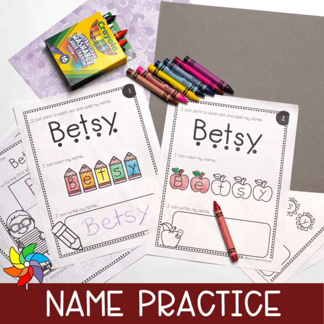 Name Activities Archives - Play to Learn