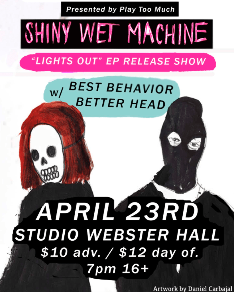 Shiny Wet Machine show