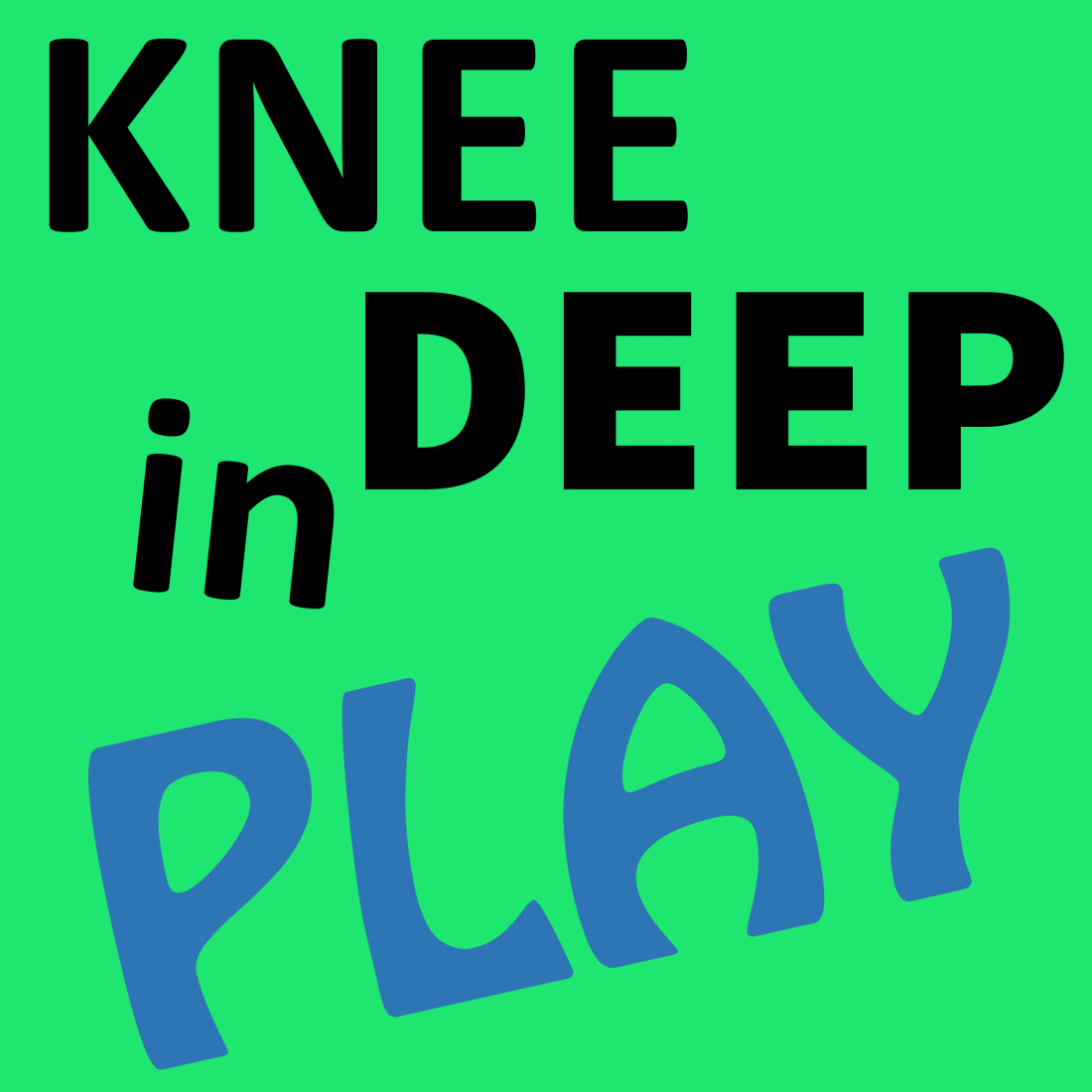 knee deep in play logo