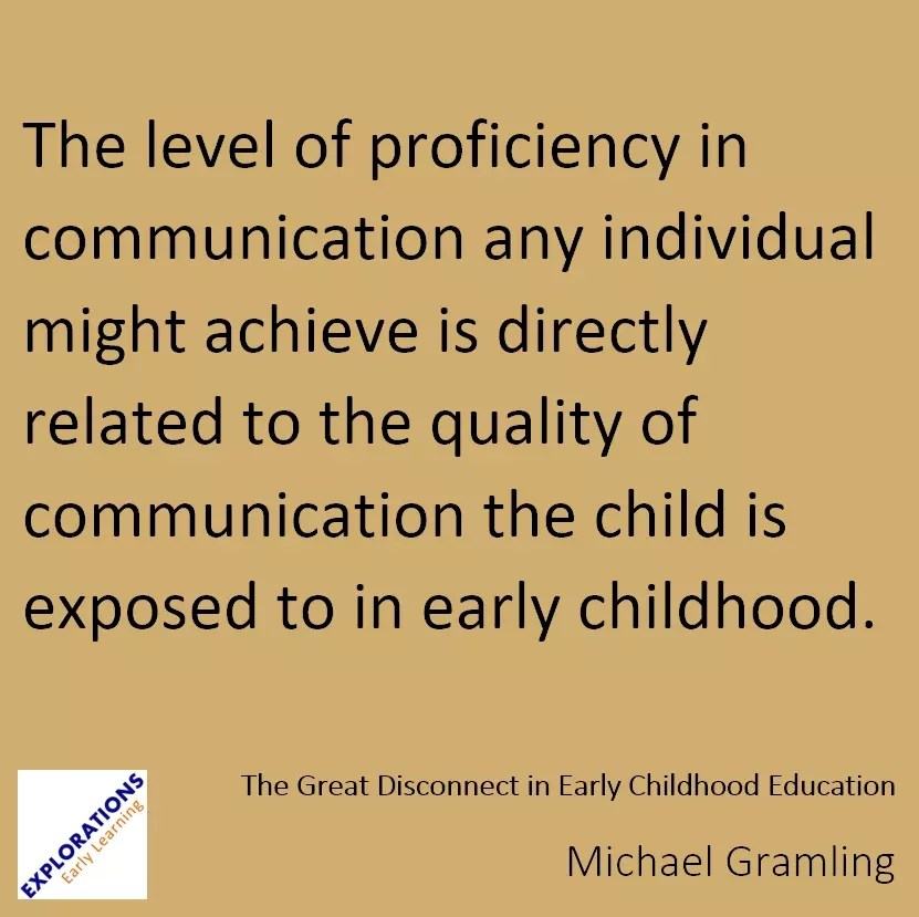 The Great Disconnect In Early Childhood Education Quote 2026