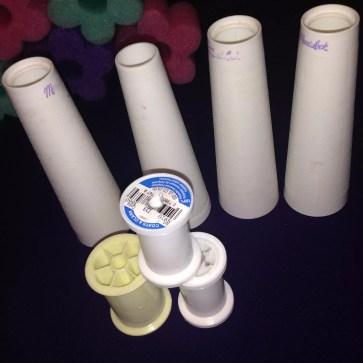 Plastic Thread Spools