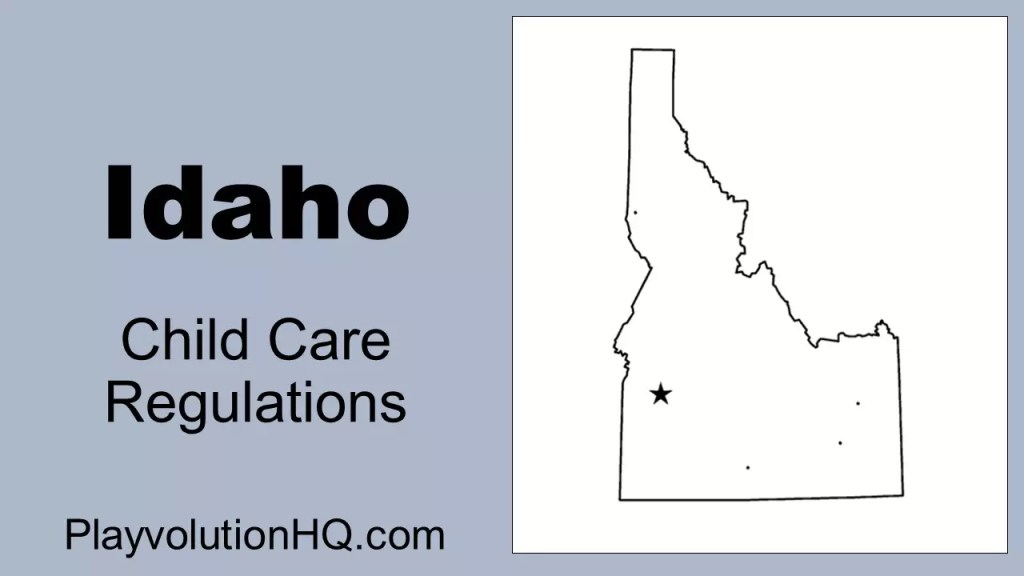Licensing Regulations | Idaho