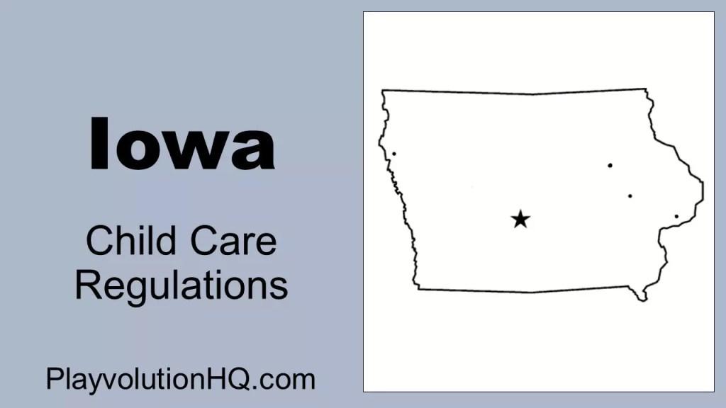 Licensing Regulations | Iowa